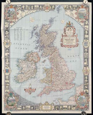 The British Isles. England Scotland Ireland and Wales. Officially known as The United Kingdom...