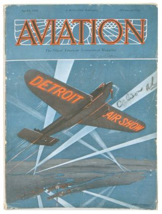 Aviation. The Oldest American Aeronautical Magazine