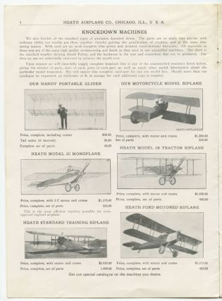 "Heath Airplane Company, Inc. (""Everything for Air Craft"")."
