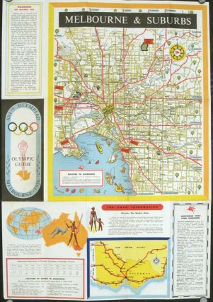XVIth Olympiad. Olympic Guide. Melbourne 1956. OLYMPICS - AUSTRALIA
