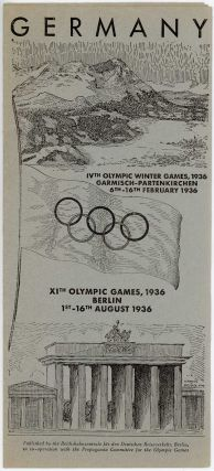 Germany. Olympic Games Berlin, 1936 1st-16th August.