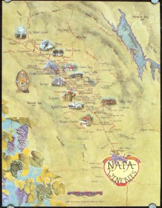 Napa Wineries. CALIFORNIA - NAPA VALLEY