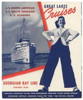 Great Lakes Cruises. DEPRESSION ERA CRUISING.