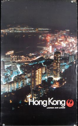 Hong Kong. Japan Air Lines. HONG KONG.