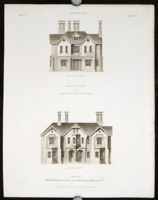Design 5. [Country Inn or Hotel]. BRITISH ARCHITECTURE - REGENCY, Francis Goodwin