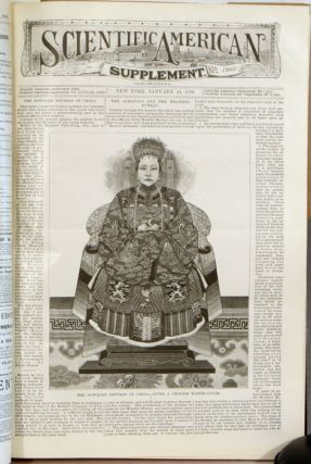 Scientific American Supplement. BOUND VOLUME. January 7, 1899 through December 30, 1899. CHINA /...