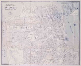 San Francisco. (Map title: Rand McNally Indexed Reference Map of San Francisco. San Francisco...