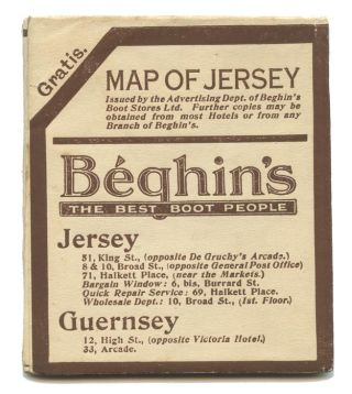 Map of Jersey.