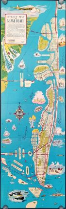 Miami Beach City Map. Map title: Street Map of Miami Beach. FLORIDA - MIAMI