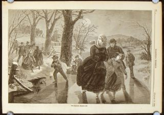 The Skating Season 1862. -18.