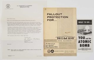 Fallout Protection for Homes. What to Do...You and the Atomic Bomb. [THREE ITEMS RELATING TO...