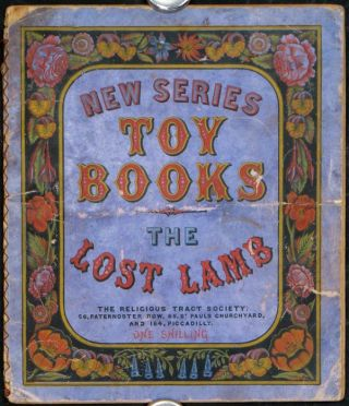 New Series Toy Books The Lost Lamb. CHRISTIAN / WOOD-ENGRAVINGS