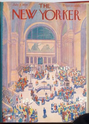 The New Yorker. 17 issues from 1934.