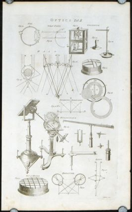 Optics. SIX ENGRAVINGS. OPTICS - MAGIC LANTERNS / CAMERA etc