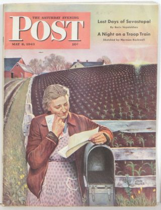 The Saturday Evening Post. 1943 - 05 - 08. NORMAN ROCKWELL.