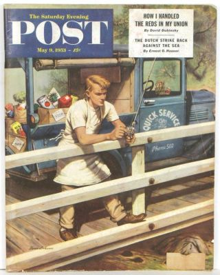 The Saturday Evening Post. 1953 - 05 - 09