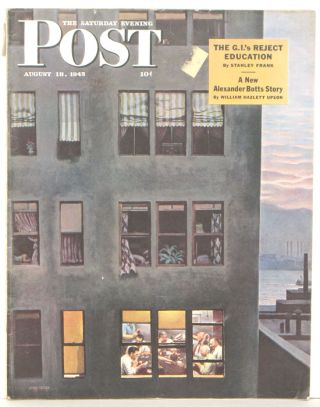 The Saturday Evening Post. 1945 - 08 - 18. POKER.