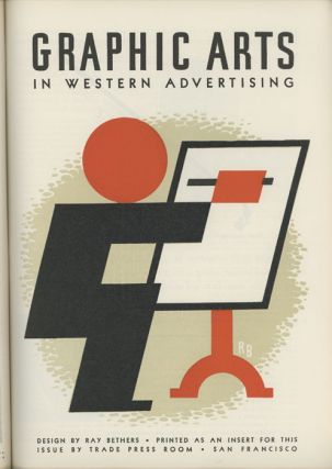 Western Advertising. RAY / DEPRESSION ERA BETHERS.