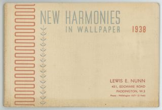 New Harmonies in Wall Paper.