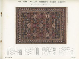 Carpets and Rugs.