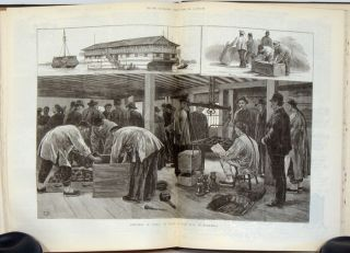 The Illustrated London News. July to December 1883. CHINESE SUBJECT MATTER etc