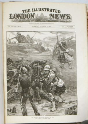The Illustrated London News. January through July 1882. ANGLO-EGYPTIAN WAR