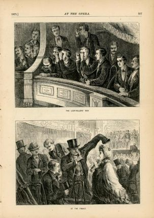 At the Opera. Appletons' Journal, March 4, 1871.