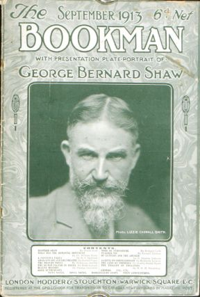 The Bookman. PORTRAIT: GEORGE BERNARD SHAW