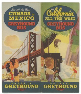 See California and All the West by Greyhound Bus.