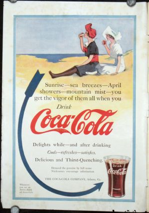 The Woman's Magazine. VINTAGE COCA COLA ADVERTISING.