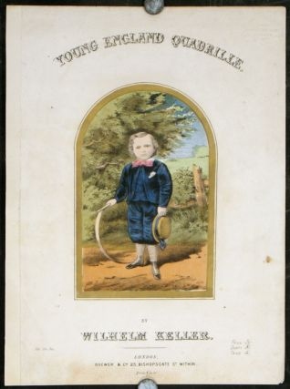 Young England Quadrille. VICTORIAN SHEET MUSIC COVER