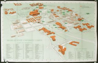 Michigan State University - Guide to the Campus. MICHIGAN STATE UNIVERSITY