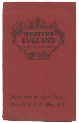 Pratts High Test Plan of the West Country. Cover title: Western England In Picture and Story.