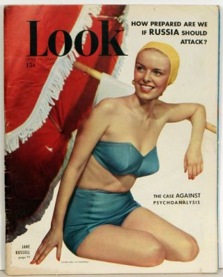 Look Magazine. 1950 - 06 - 20. MARILYN MONROE- THE ASPHALT JUNGLE / JANE RUSSELL.