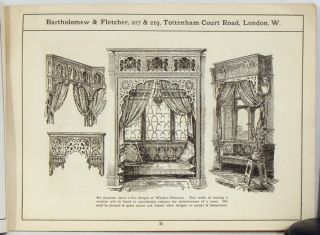 Bartholomew & Fletcher. 1890s HOME FURNISHINGS CATALOG