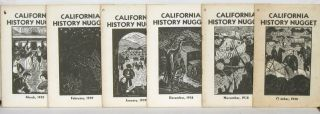 California History Nugget Devoted to the Story of the Golden West.