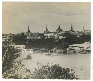 The Palace from Wat Arun.
