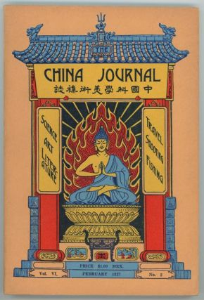 The China Journal. February, 1927. ETC CHINA - FORMOSA, Arthur de C. Sowerby