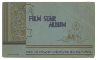 The Film Star Album. 1930s FILM STARS.