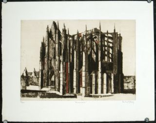 Beauvais. BERNARD - CATHEDRAL SERIES KAY