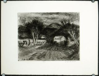 Untitled etching]. JEAN-CLAUDE IMBERT