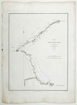Sketch of the Pay-ho or White River, and of the Road from Pekin to Geho taken 1793. CHINA -...