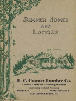 Summer Homes and Lodges.