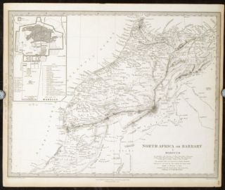 North Africa or Barbary. I Marocco. II Algier. III Tunis and part of Tripoli. IV Tripoli. V...