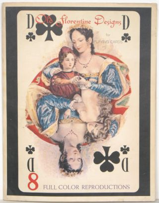 Old Florentine Designs for Playing Cards. PLAYING CARDS - EROTIC DESIGN