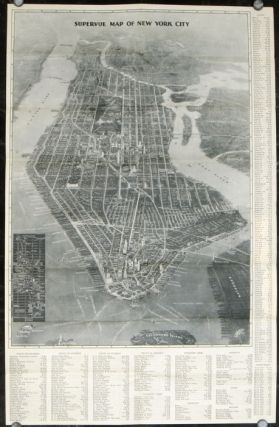 The Supervue Map of New York City Every Point of Interest Before Your Eyes. A Complete Guide of...