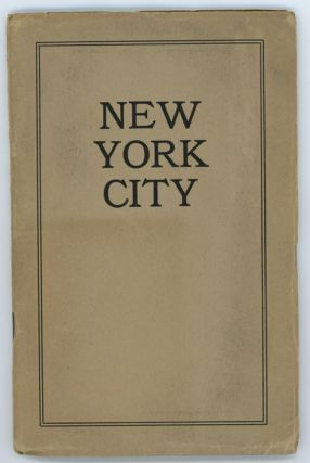 New York City subways, Hudson tunnels, elevated, surface and omnibus lines, taxicabs, railway stations, churches, hotels, restaurants, tea rooms, shops, theatres, and places of interest.