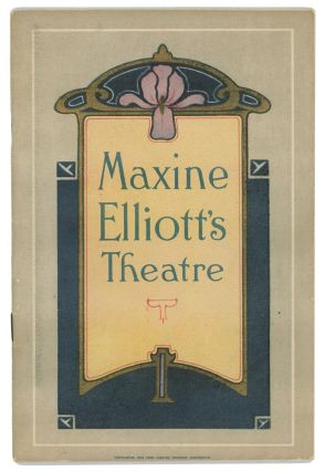 Jeanne Eagels in Rain. 1923 THEATRE PROGRAM, Colton and Randolph