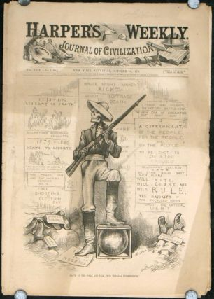 An Archery Meeting. (Front cover: Death at the Polls, and Free From 'Federal Interference.').