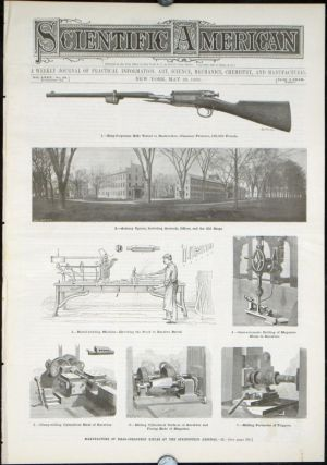 Scientific American. A Weekly Journal of Practical Information... Manufacture of Krag-Jorgensen Rifles at the Springfield Armory / Manufacture...at the Springfield Arsenal.